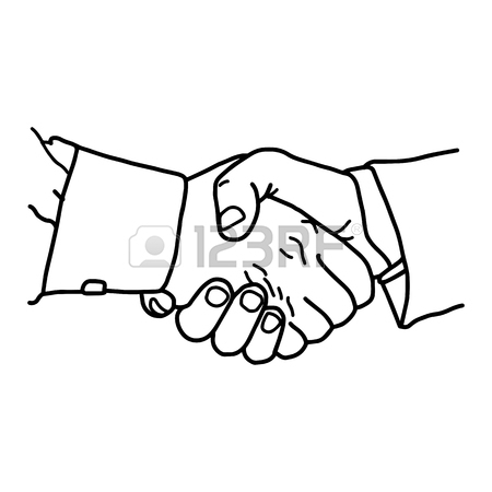 450x450 Close Up Two Business People Shaking Hands