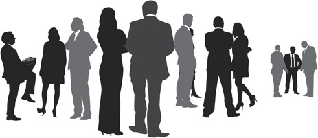 463x201 Free Vector People Silhouettes Free Vector Download (10,311 Free