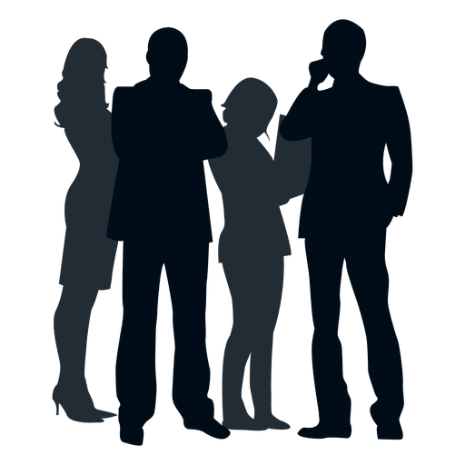 512x512 Group People Silhouette Group People Silhouette