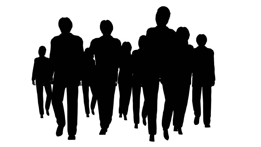 852x480 Business People Silhouette Stock Footage Video Shutterstock