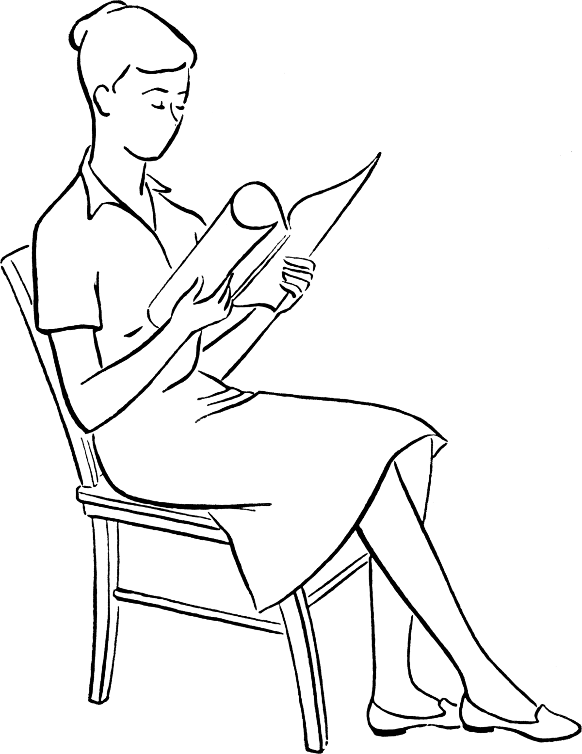 People Sitting Drawing At Getdrawings Com Free For
