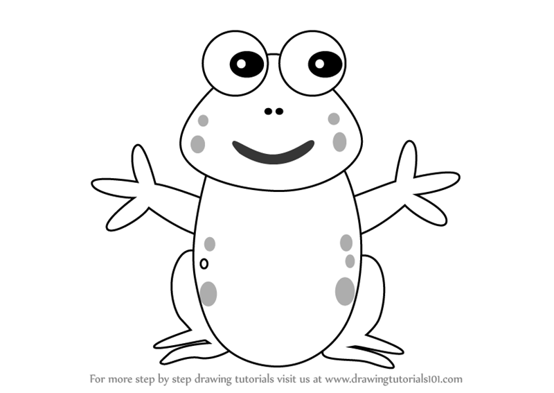 800x567 How To Draw Frog. Take Giant Leap Into Drawing. How To Draw