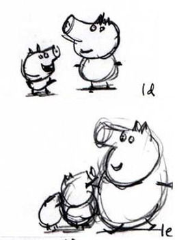 281x351 First Peppa Sketch Worth A Fortune Daily Star