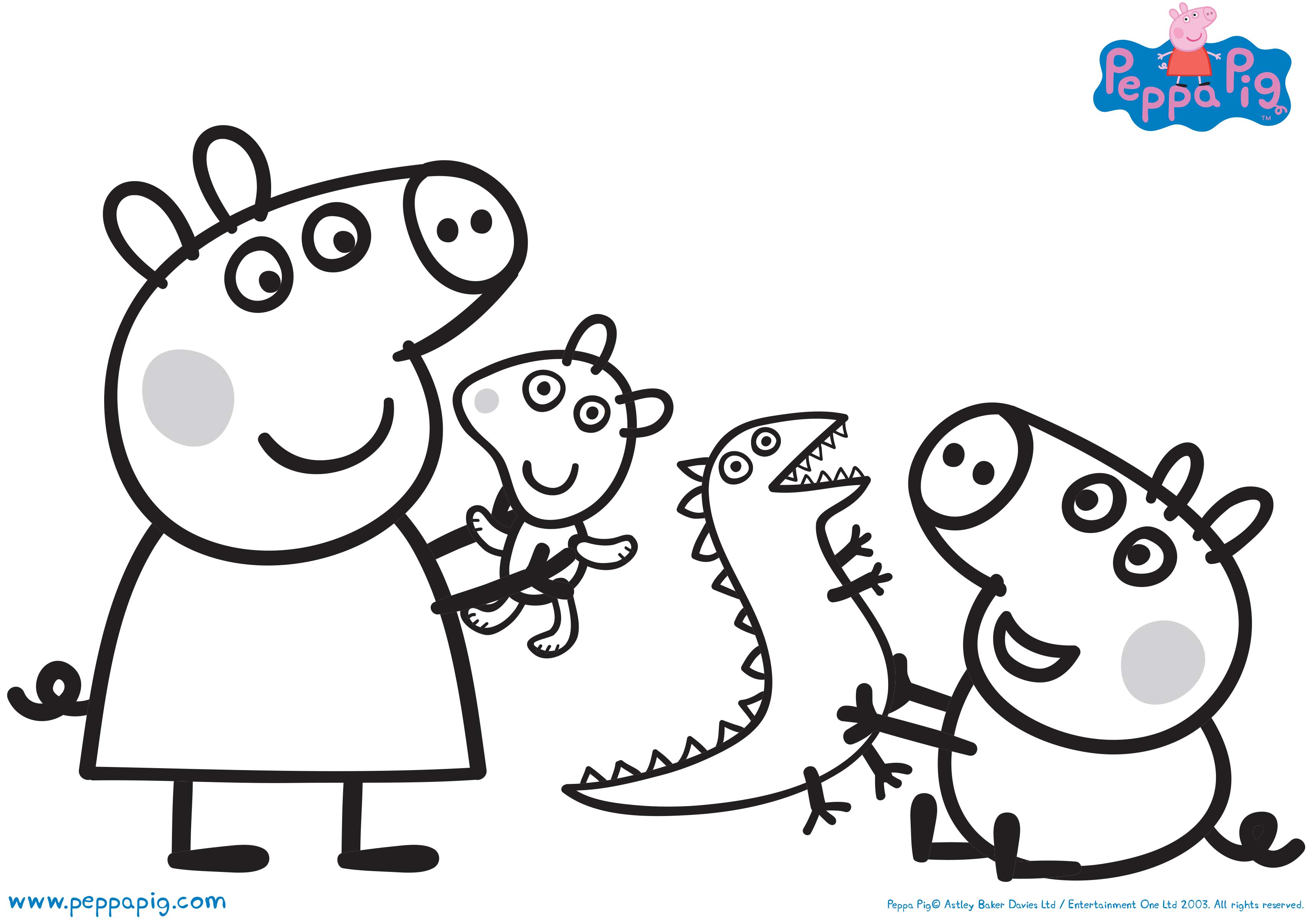 Peppa Pig Drawing at GetDrawings Free download