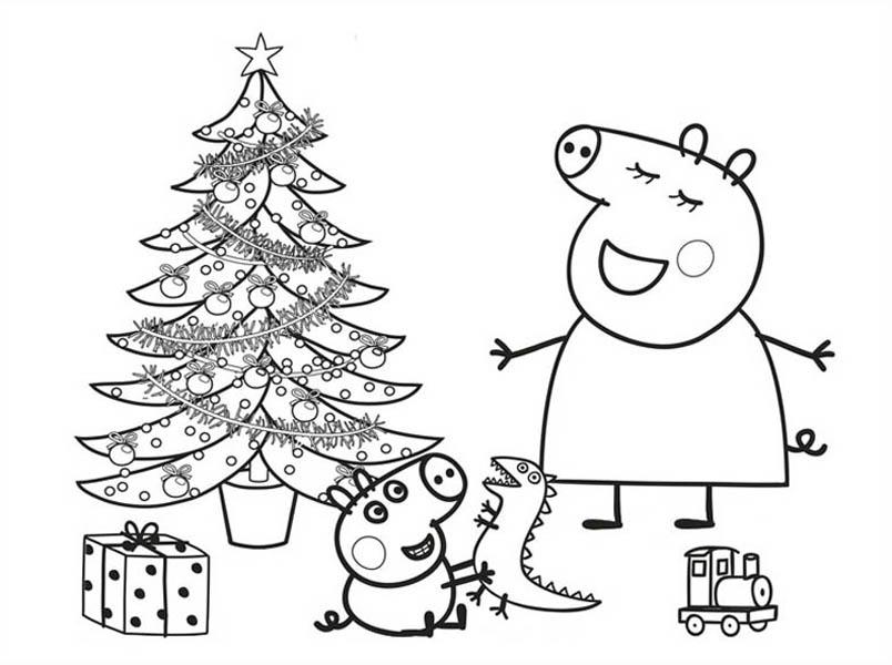 Peppa Pig Drawing at GetDrawings | Free download