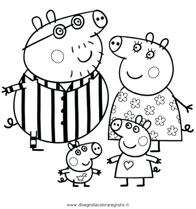 640x683 Peppa Pig Coloring Book Plus Coloring Page 64