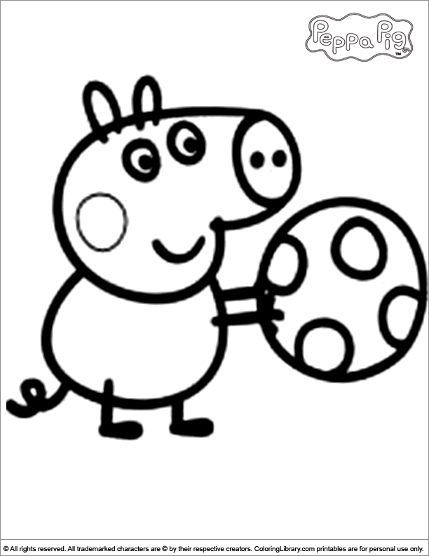 Peppa Pig Drawing at GetDrawings.com | Free for personal use Peppa ...