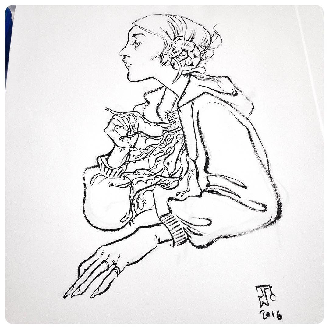 1080x1080 Rainy Day Sketching
