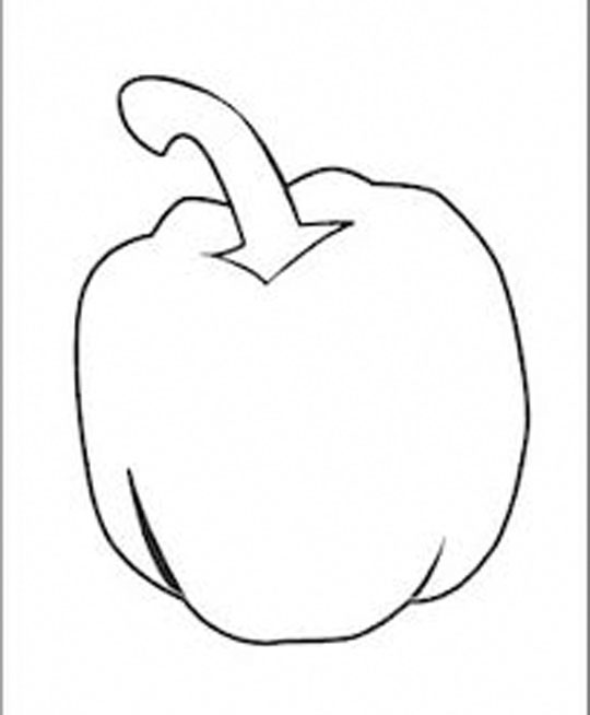 540x654 Coloring Page Pepper