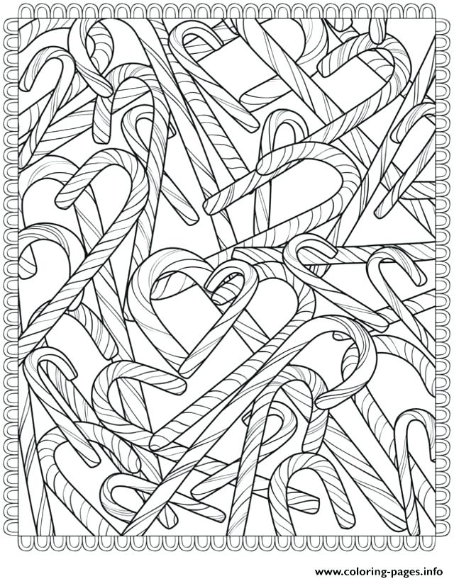 640x820 Simple Candy Cane Coloring Page Image Pages Peppermint Pa
