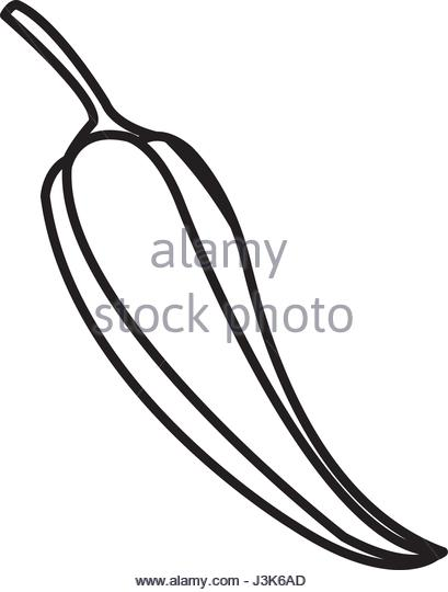 409x540 Chili Pepper Drawing Stock Photos Amp Chili Pepper Drawing Stock