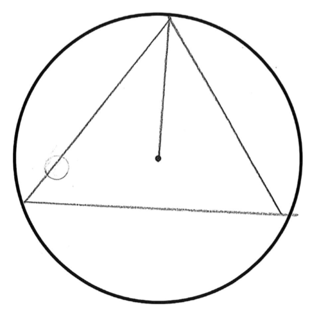 1116x1122 Equilateral Triangle In A Circle Students Are Asked To Construct