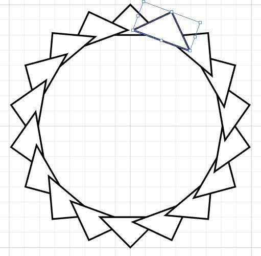 511x500 A Simple Illustrator Sunburst Nick Cassway's Designblog