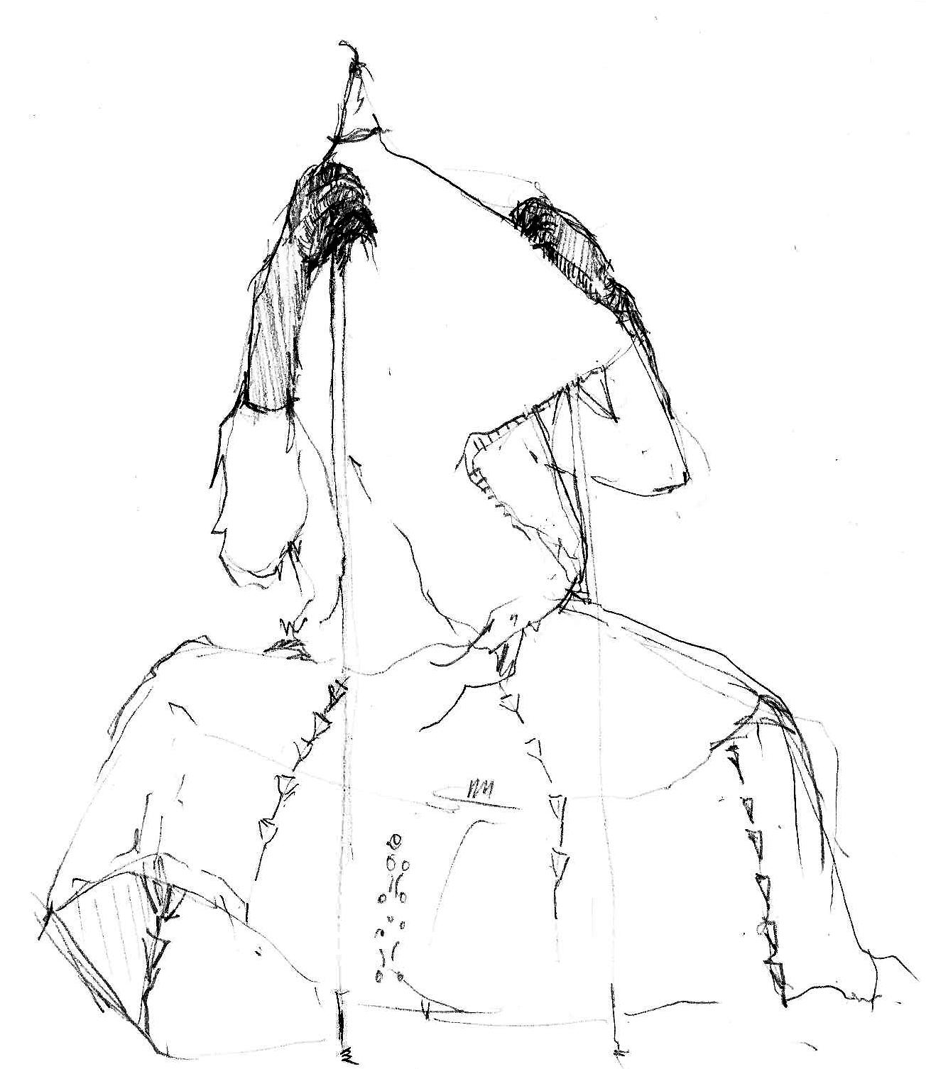 1304x1506 Vivian Chinasa Ezugha Drawing For Performance