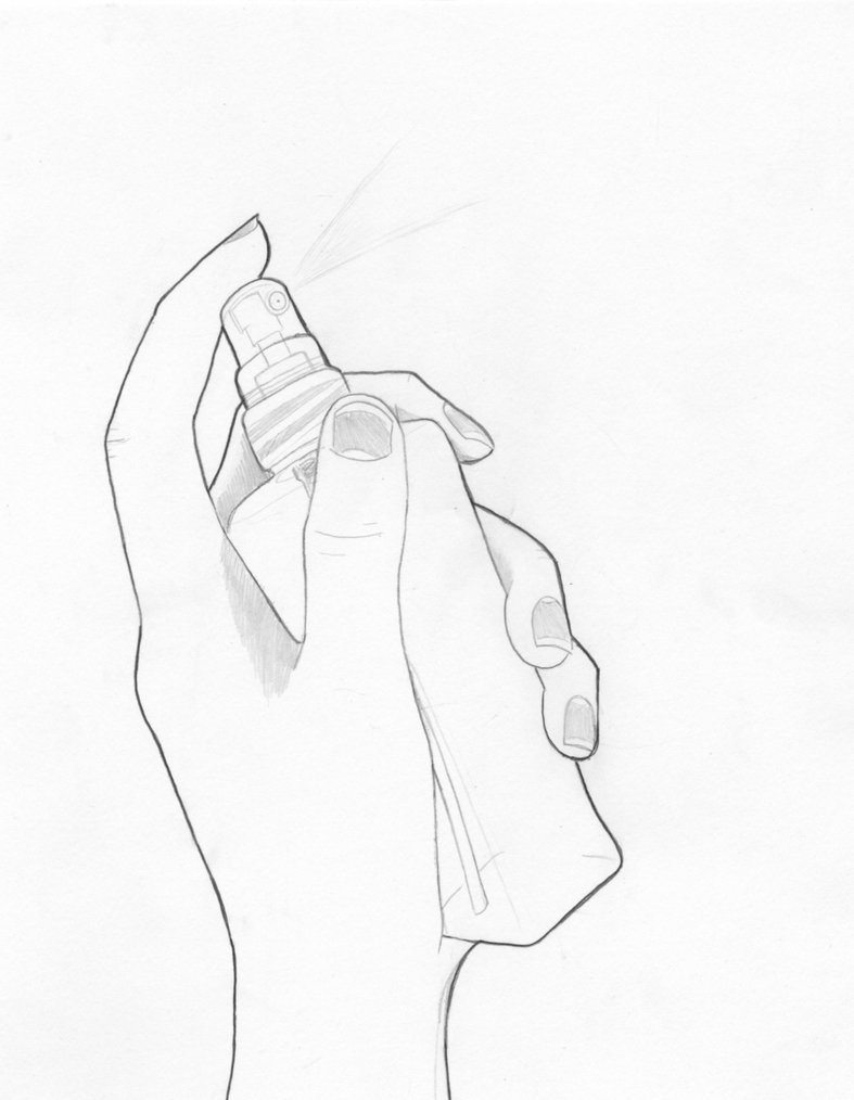 787x1014 Hand With Perfume Bottle By Katraccoon