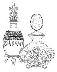200x251 Perfume Bottle Outline Pan Tattoo Ideas Perfume