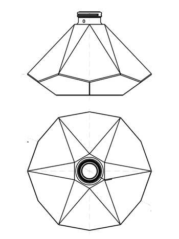 350x468 Diamond Low Profile