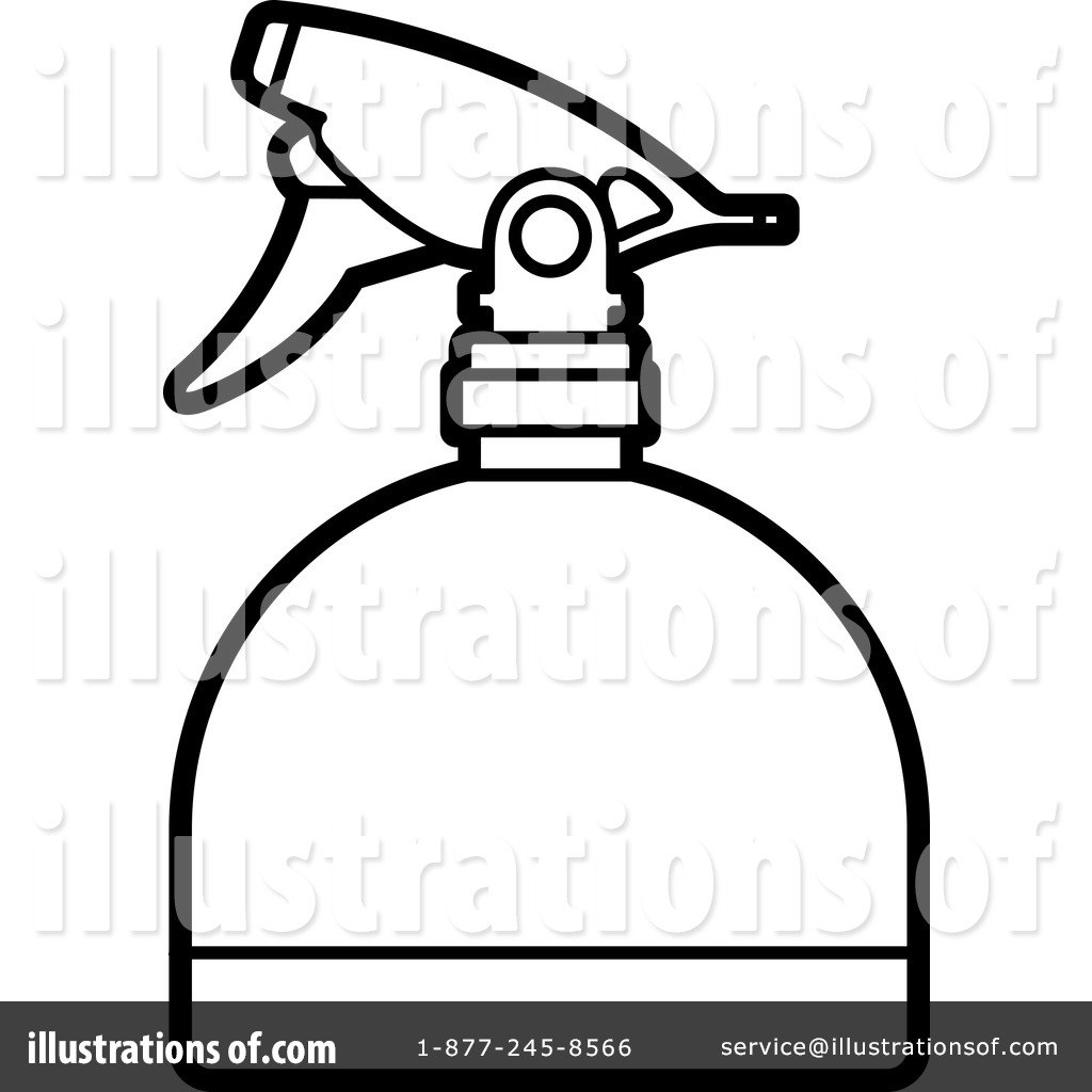 1024x1024 Spray Bottle Clipart