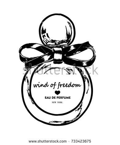 390x470 16 Best Perfume Drawings Images On Design Elements
