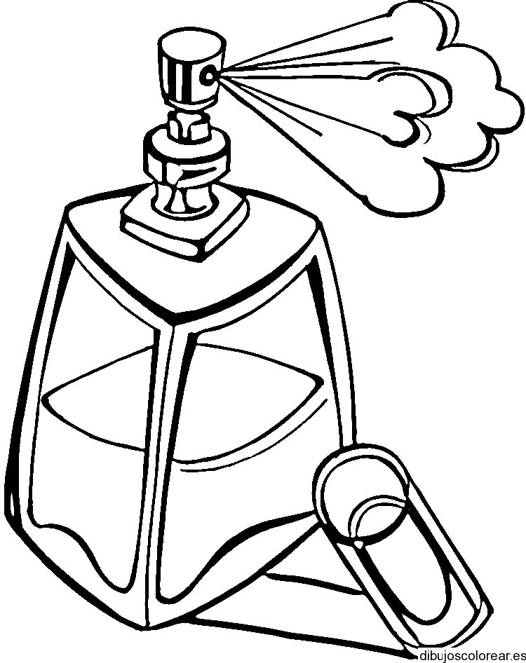750x946 Perfume Coloring Pages