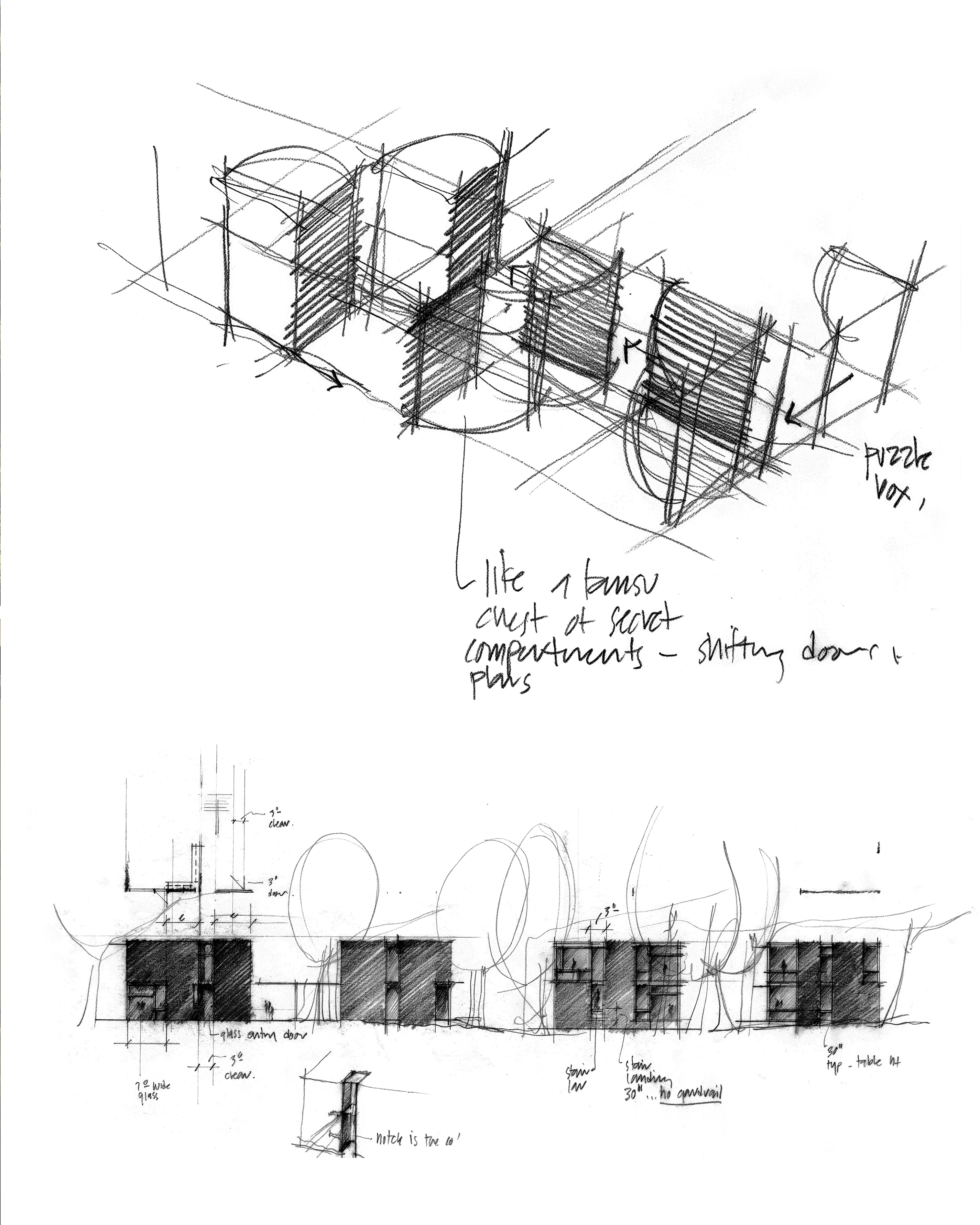 2850x3563 How Architecture Is Born 8 Pencil Sketches By Tom Kundig And