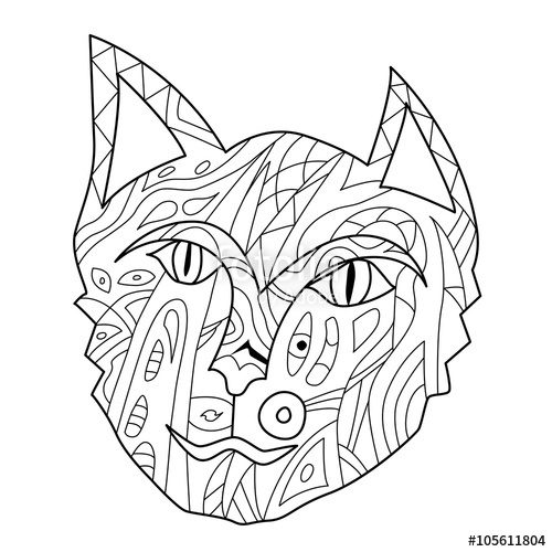 Warrior Cat Drawing At Getdrawings Com
