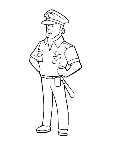 471x600 Police Officer