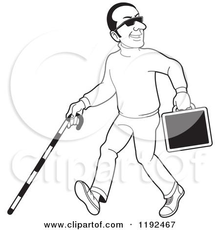 450x470 Blind Man Clipart