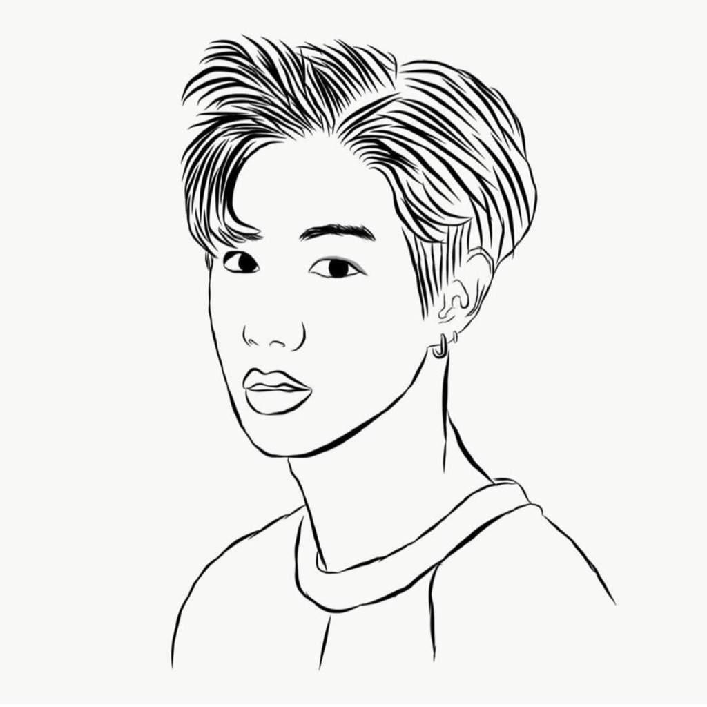 1024x1024 Got7 Outline Drawings Kpop Fanart Amino