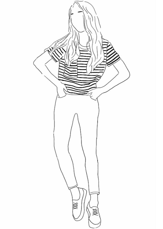 523x736 Pin By Capucine On Art Fashion Illustrations