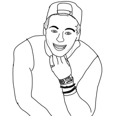 Person Outline Drawing