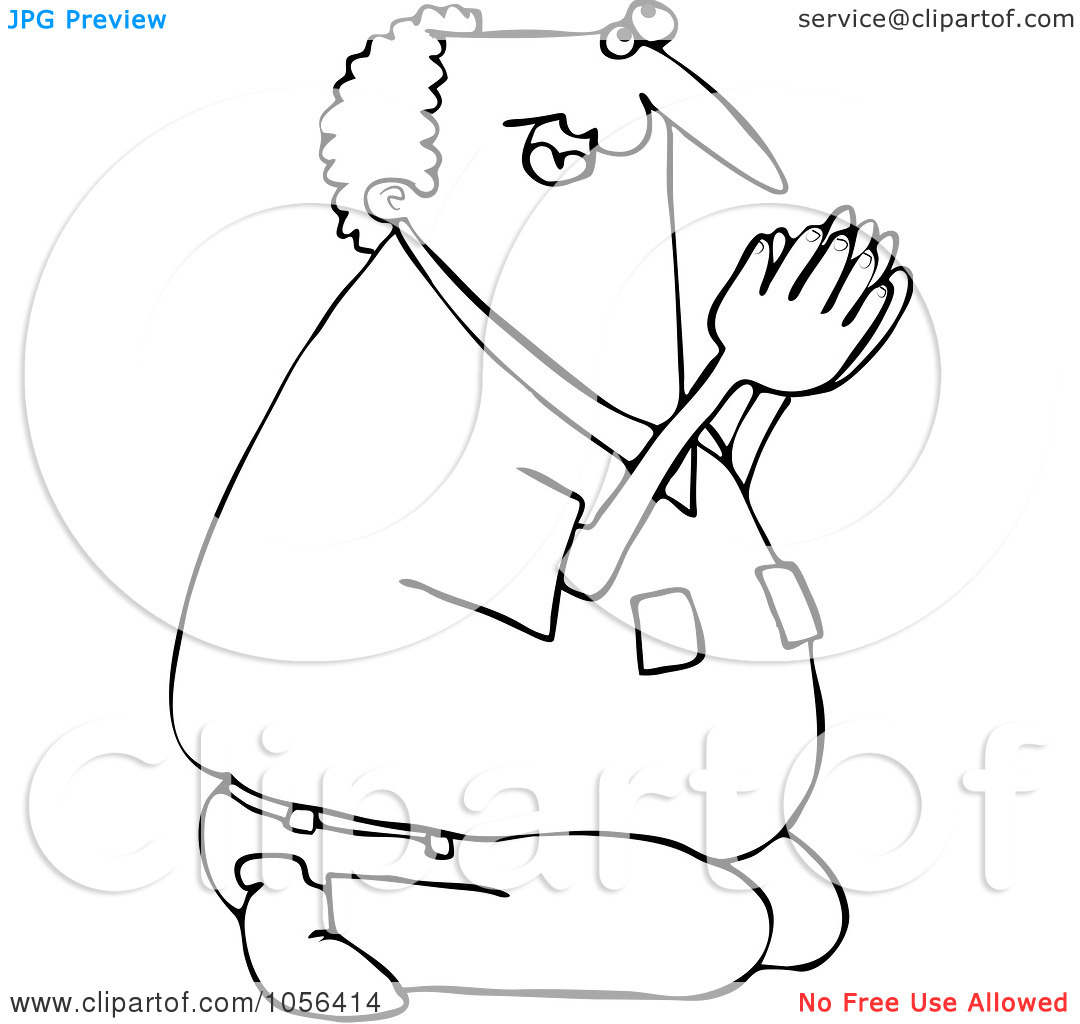 1080x1024 Best Photos Of Man Praying Coloring Page