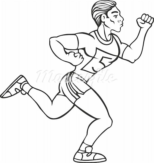 518x550 How To Draw Person Running Page 2 Pictures To Pin