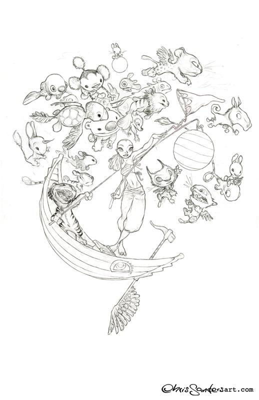 518x800 Drawings Chris Sanders Art