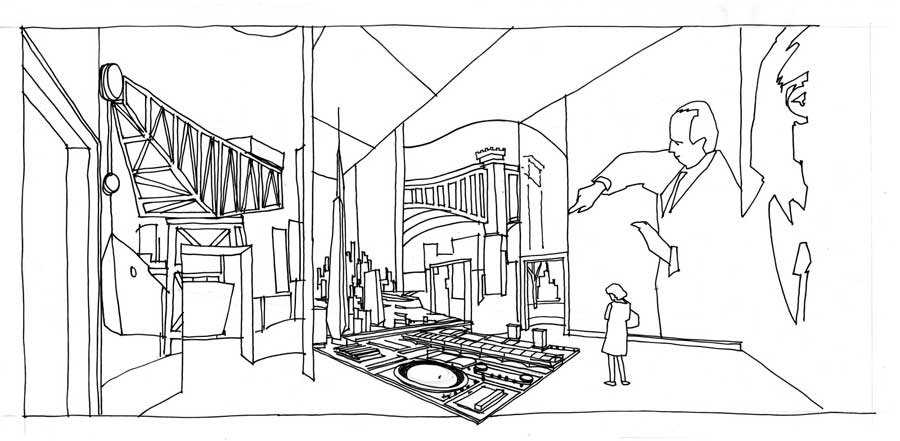 900x441 Working Drawings By Alan Dunlop, Architect
