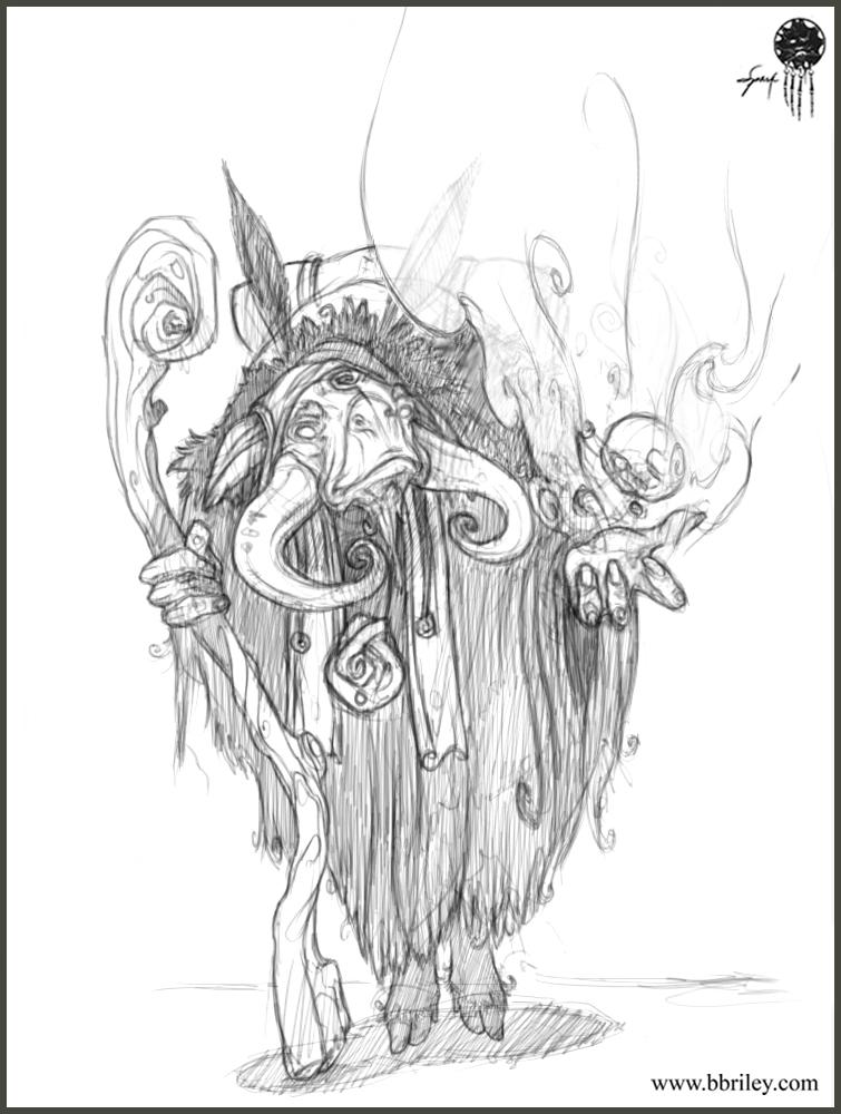 755x1000 Brett Briley 3d Character Artist Amp Creature Designer Personal Work