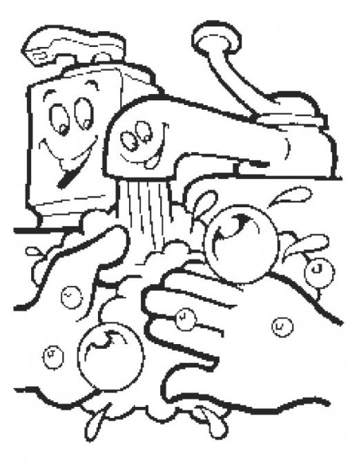 520x673 Personal Hygiene Coloring Pages Pages Personal Hygiene 16951
