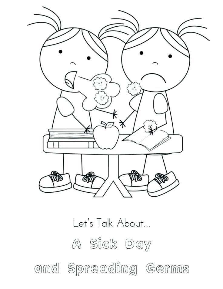 736x954 Washing Hands Coloring Page Coloring Sheets Hygiene On Personal