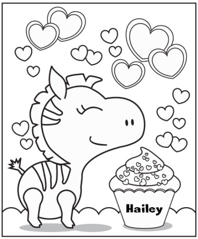 406x488 Awesome Personalized Coloring Pages 76 For Coloring Page