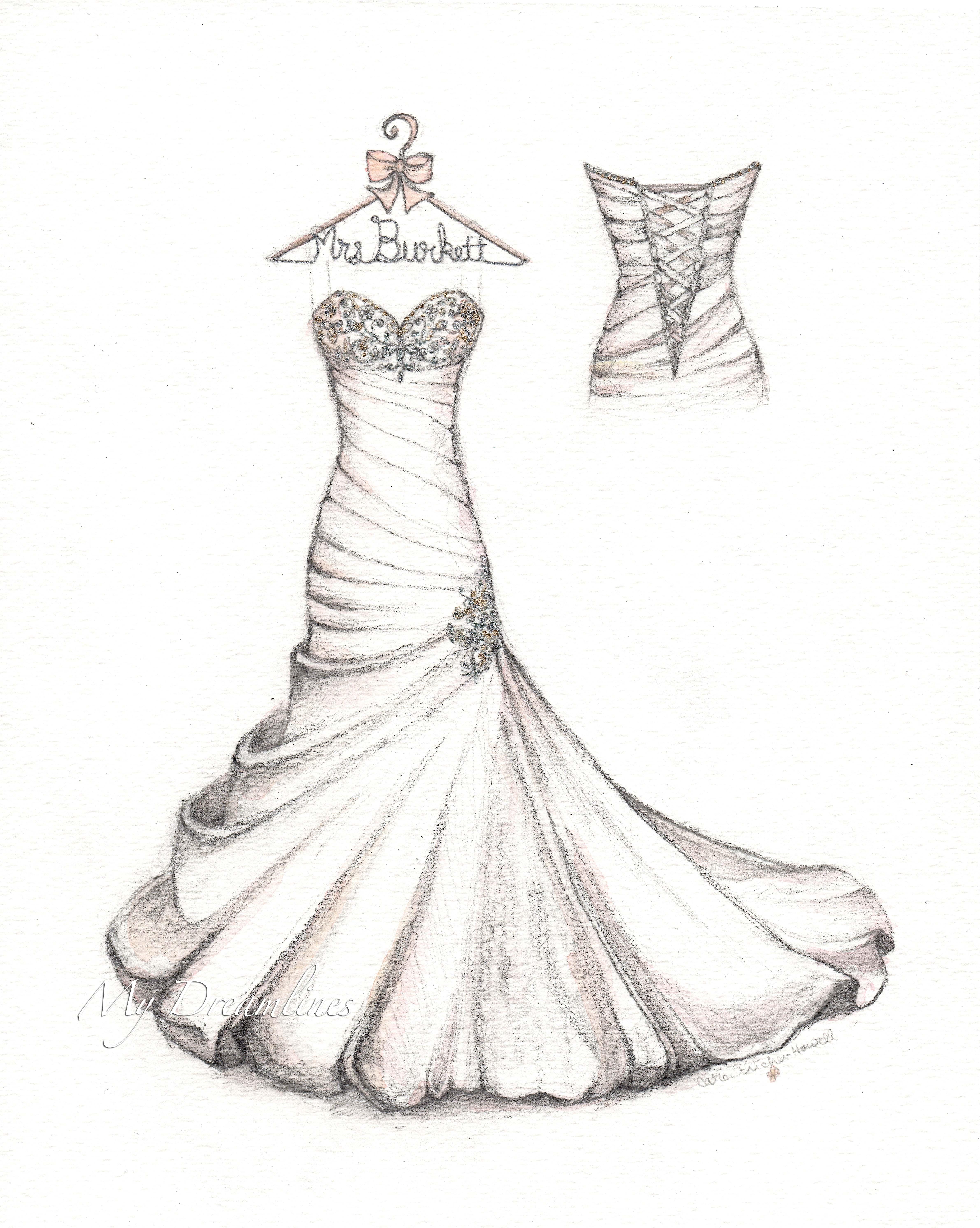 4764x5968 Satin Bubble Hem Wedding Dress With Small Detail Back
