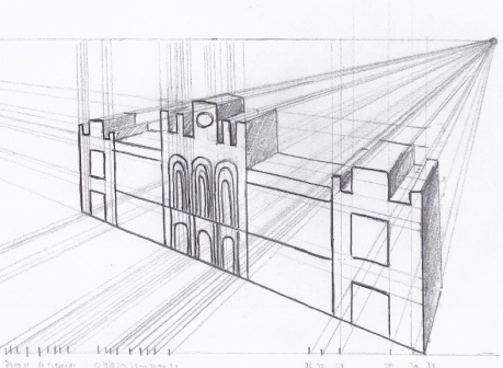 459x336 Perspective Conical Of Aranjues Representative Building Come