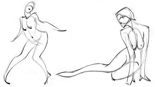 Perspective Figure Drawing