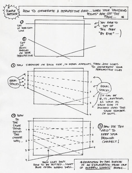 456x600 Calculating Perspective For Off Page Vanishing Point