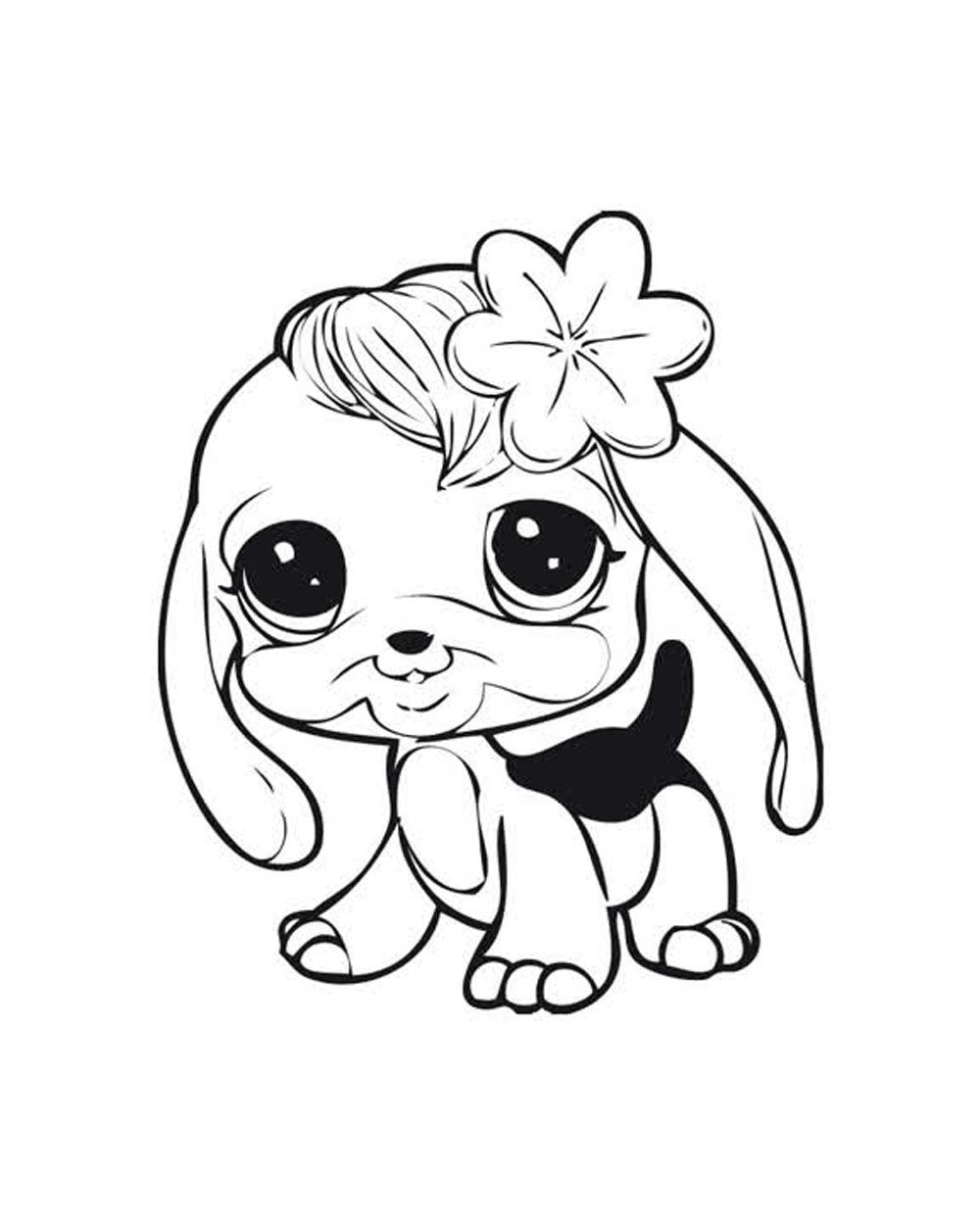 1000x1250 Littlest Pet Shops Coloring Page For My Kids