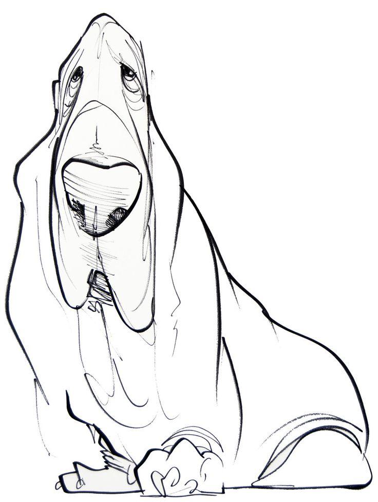 736x977 Pet Caricature Portrait Proj 1 Drawing 1301