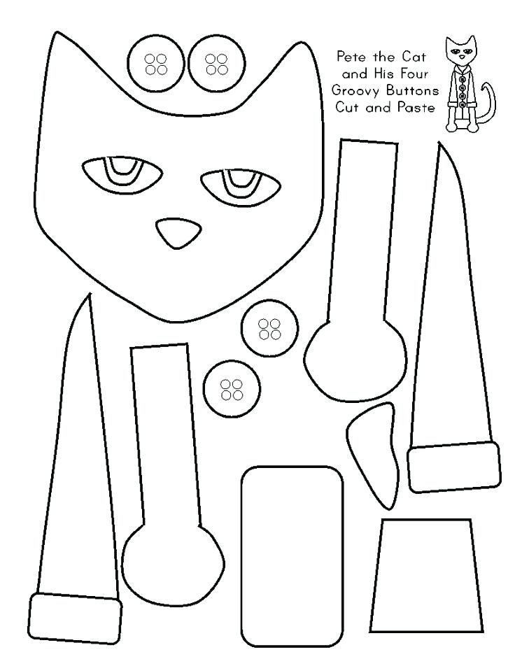 736x952 Pete The Cat Coloring Book As Well As Click To See Printable