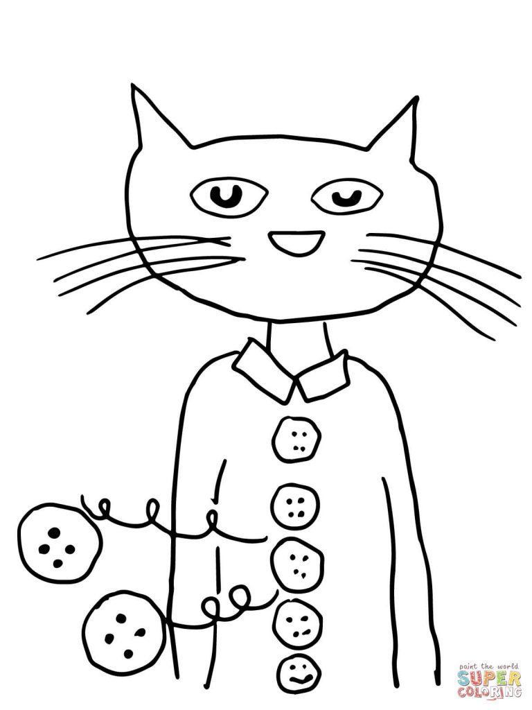 Pete The Cat Drawing at GetDrawings.com | Free for personal use Pete ...