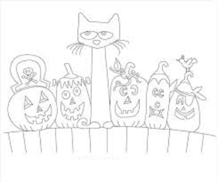 735x615 Pete The Cat Coloring Lesson Kids Coloring Page Coloring