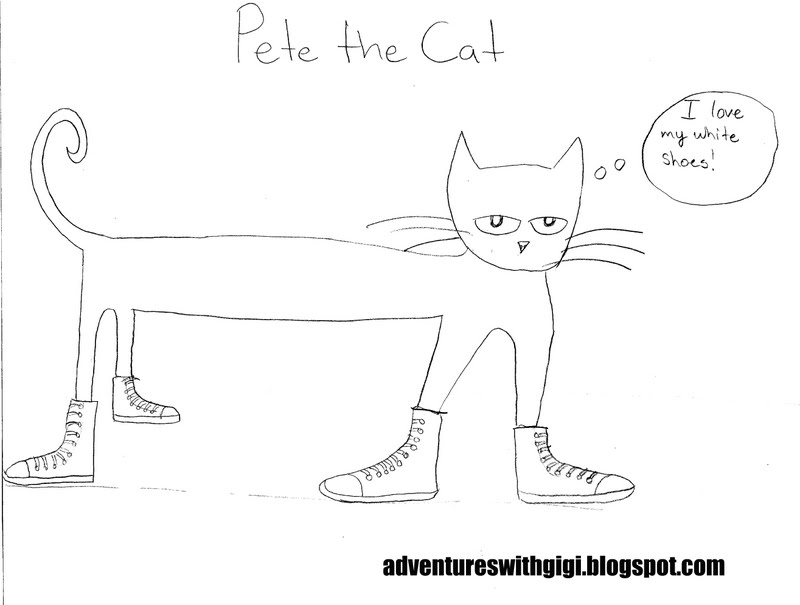 800x605 Epic Pete The Cat Coloring Pages 93 Additional Download