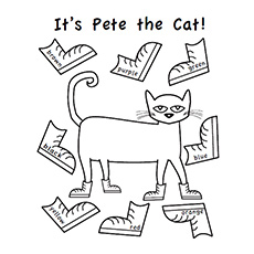 230x230 Top 20 Free Printable Pete The Cat Coloring Pages Online